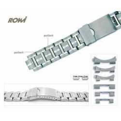 Bracelet à fermoir déployant en Acier Stainless Stell Anses multiples 18-20-22mm Rowi 303264
