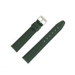 Bracelet montre Vert Largeurs de 12-14 et 18mm en cuir de veau Valencia EcoCuir®