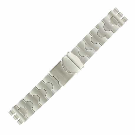 Bracelet de Montre 20mm Adaptable montre Swatch en Acier inoxydable Rowi®