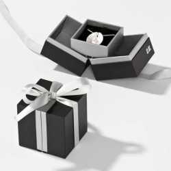 Écrin pour Pendentif-B.O-Créoles en carton 65x65x25mm Loft 0920061A